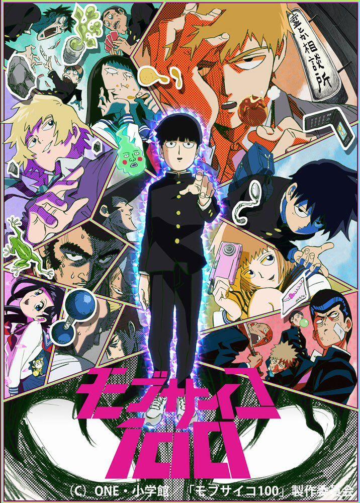 モブサイコ100 mobpsycho anime twitter fondo de pantalla de anime dibujos anime parejas anime