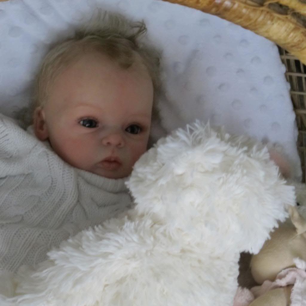 Doves Nursery Realistic Reborn Baby Girl Livia Gudrun Legler Sculpt