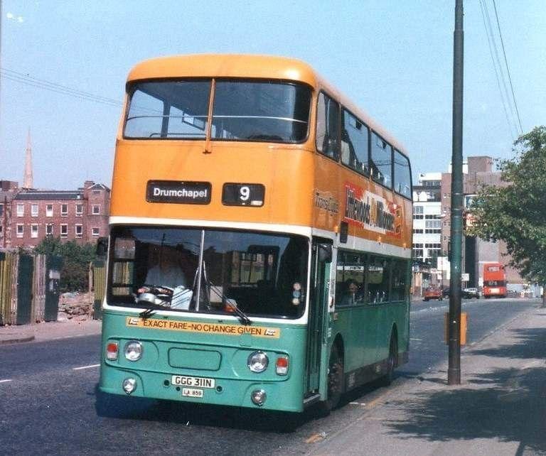 Vintage Wedding Dresses Glasgow: Pin On Buses