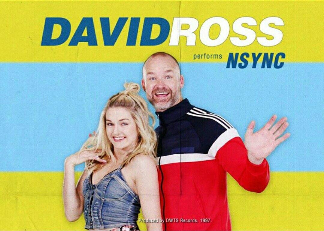 David and Lindsay DWTS #TeamLadyAndTheGramp