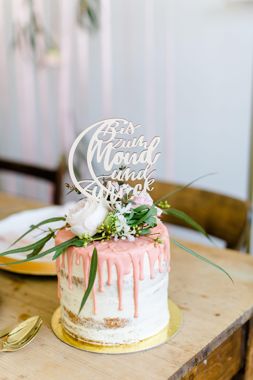 Cake Topper Tortenstecker Und Kuchen Topper Frisch Verheiratet Aus