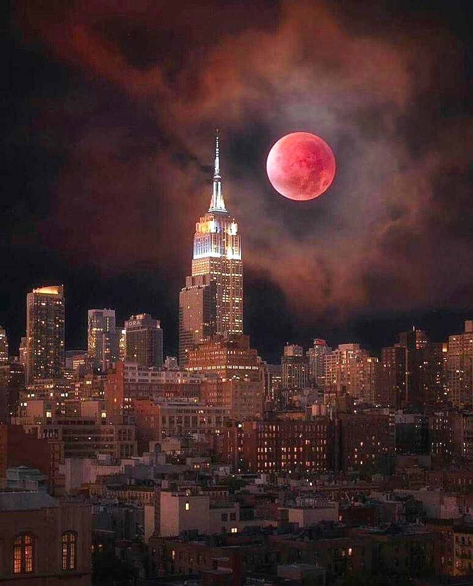 blood moon today new york - photo #36