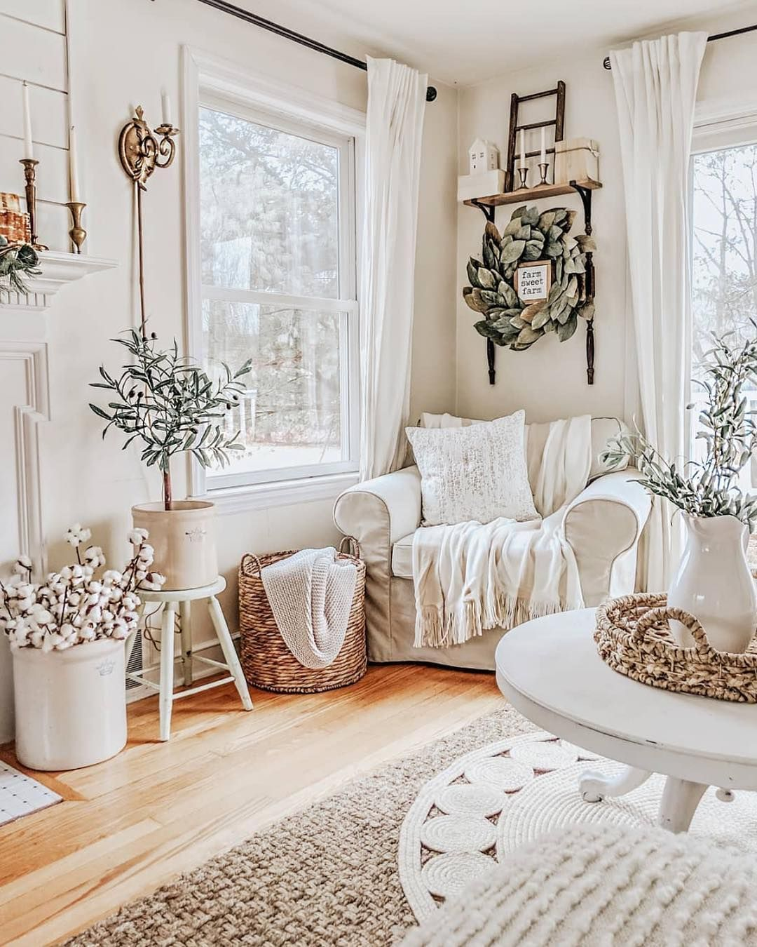 American Farmhouse Style On Instagram When It S Snowy Outside