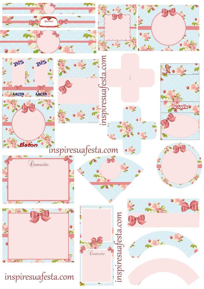 http://inspiresuafesta.com/floral-kit-digital-gratuito/   ετικετες ...