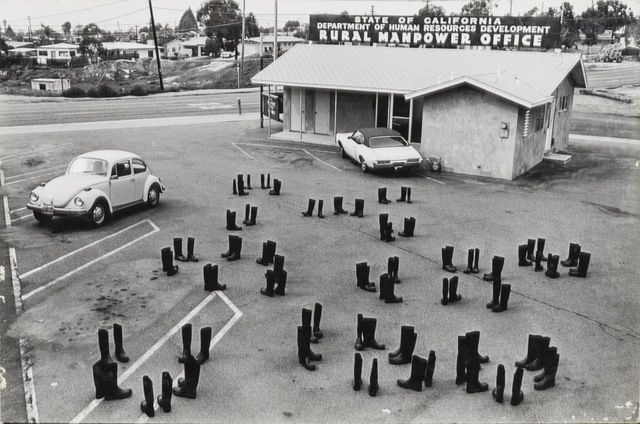 Staged Photography Artsy Eleanor Antin 100 Boots Looking For A Job Female Artists Feminist Artist Artist