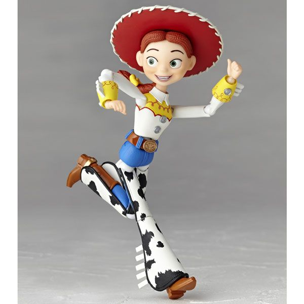 5becb35d6326c  KAIYODO  Toy Story  Figura de ação da personagem Jessie - Revoltech No. 48