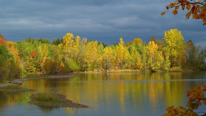 Autumn colors in Base de plein...: Photo by Photographer Gaetan Chevalier - photo.net