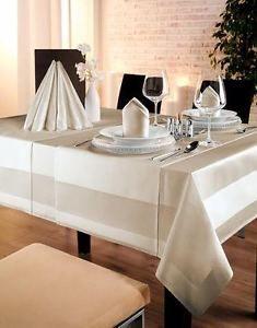 Tischdecke Vollzwirn Damast Gastro Restaurant Hotel Bistro Show Hochzeit Pflege