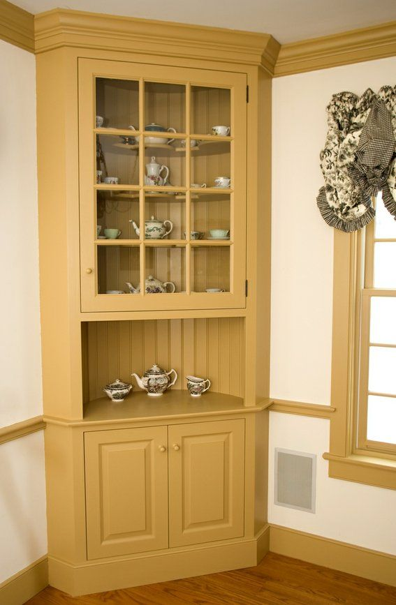 Built-ins Can Be Refinished, Painted, New Hardware... I