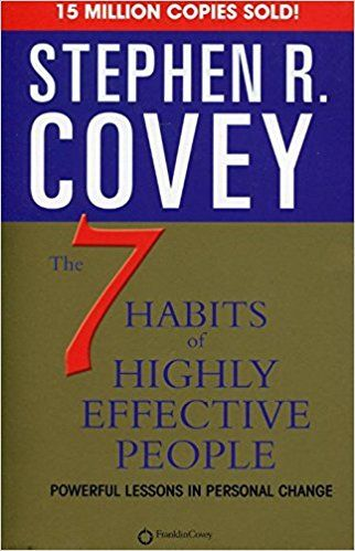 7 Habits Of Highly Effective People Stephen R Covey