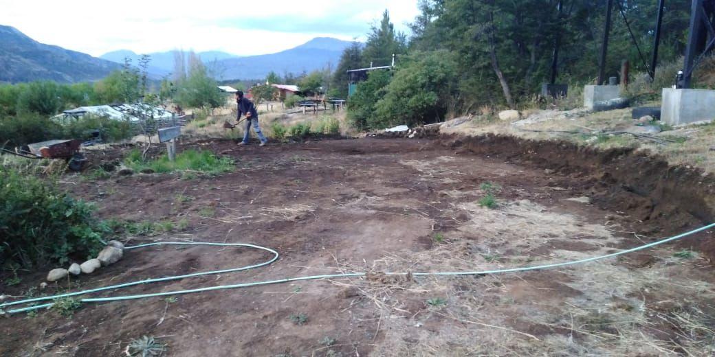 Fabricacion De Terrazas Para Cultivo Comuna De Cochrane
