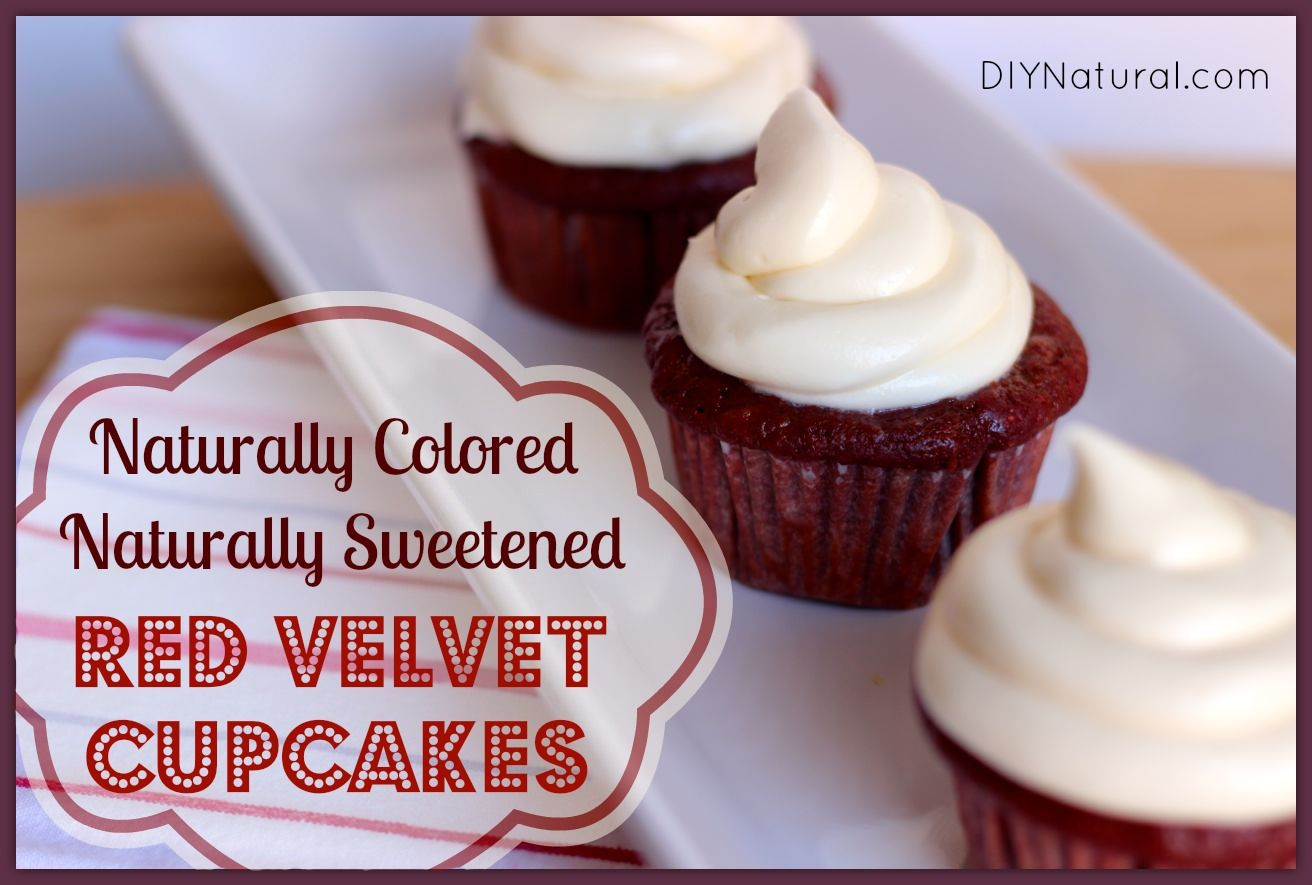 Natural Red Velvet Cake Without Food Coloring | Red cupcakes ...