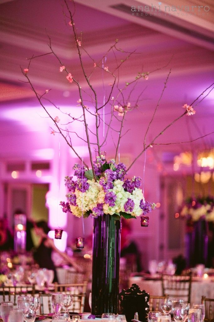 Anahinavarrophotography33 Pearl Events Black Vases Purple And