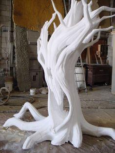 Insulation Spray Foam Tree Props | Artificial on Pinterest ...