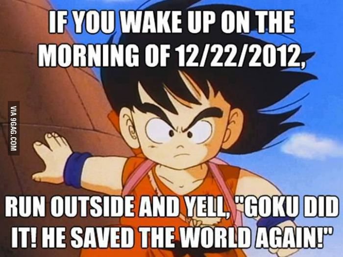 Goku Did It Again Goku Best Part Of Me Best Funny Pictures
