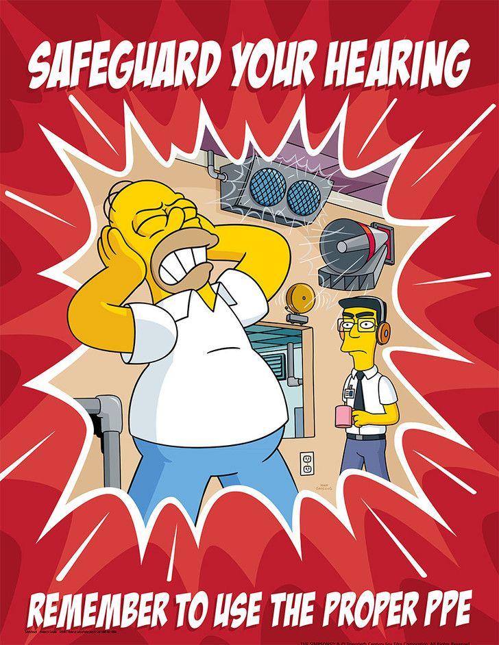 Simpson's Safety Posters Album on Imgur Imágenes de