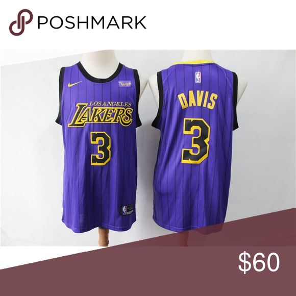 Los Angeles Lakers Anthony Davis Jersey 6 All Size Same As Official All Stitched On Name Number And Logo Shirts Anthony Davis Los Angeles Lakers Lakers