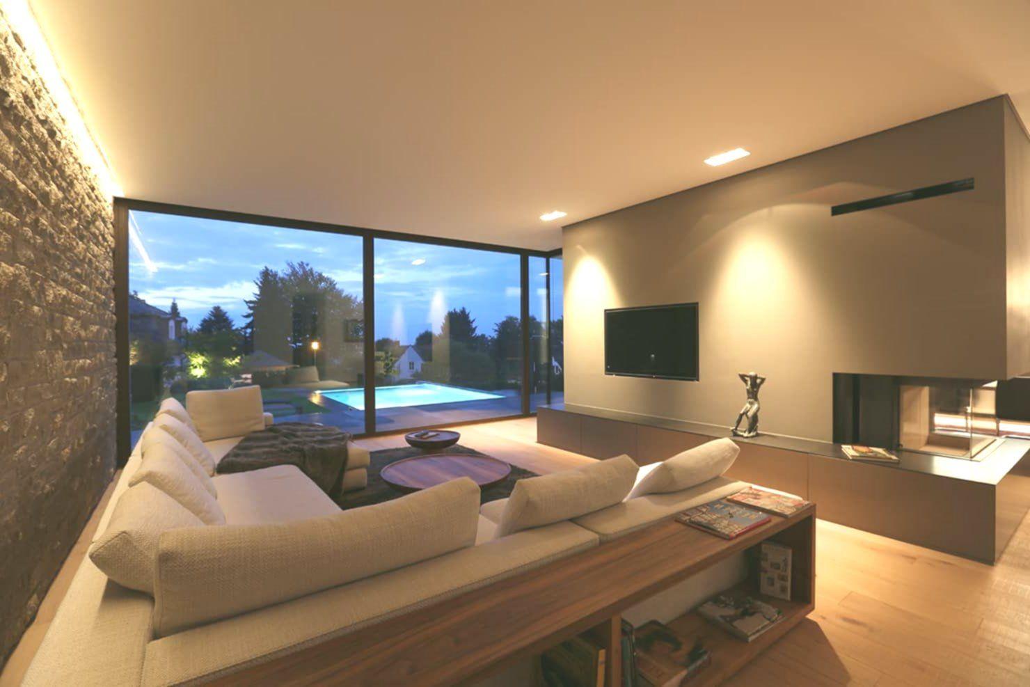 Moderne wohnzimmer villa p3 von dg d architekten modern