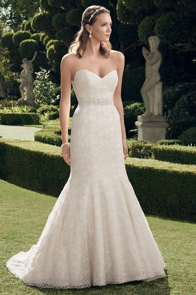 Casablanca Bridal Wedding Dress style 2176 BRIDES
