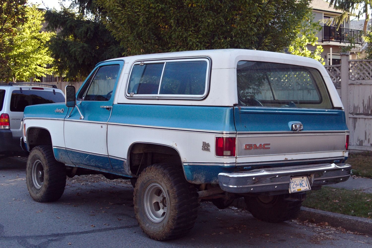 Images Of 1977 Gmc Jimmy High Sierra Old Parked Cars Vancouver
