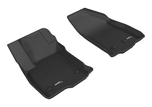 3d Maxpider All Weather Floor Mat For Select Chevrolet Volt Models Front Row Chevrolet Volt Cargo Liner Rubber Floor Mats