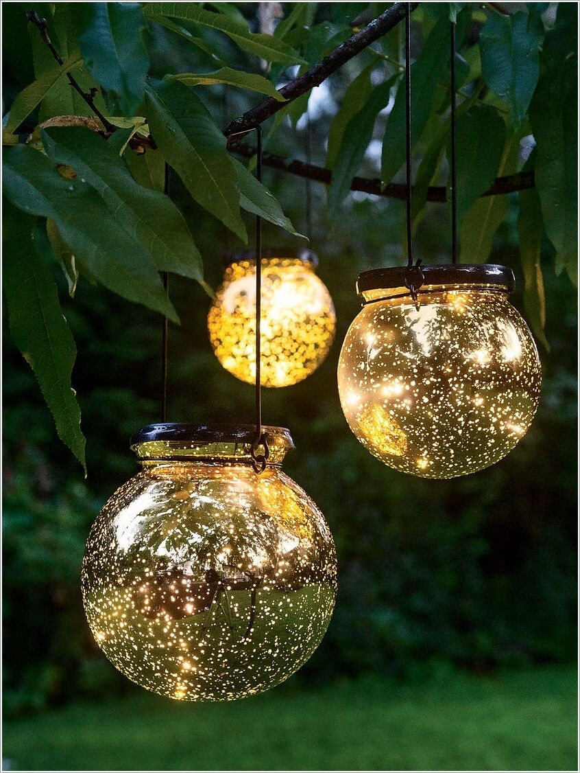 10 Magical Outdoor Decor Projects With Fairy Lights 7 Dům A