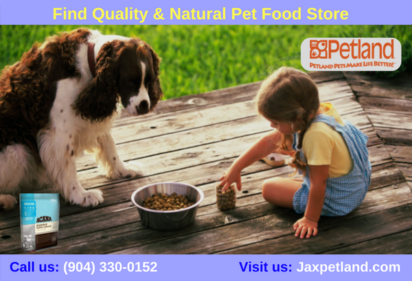 Petland JAX for Pets offers natural & high quality pet
