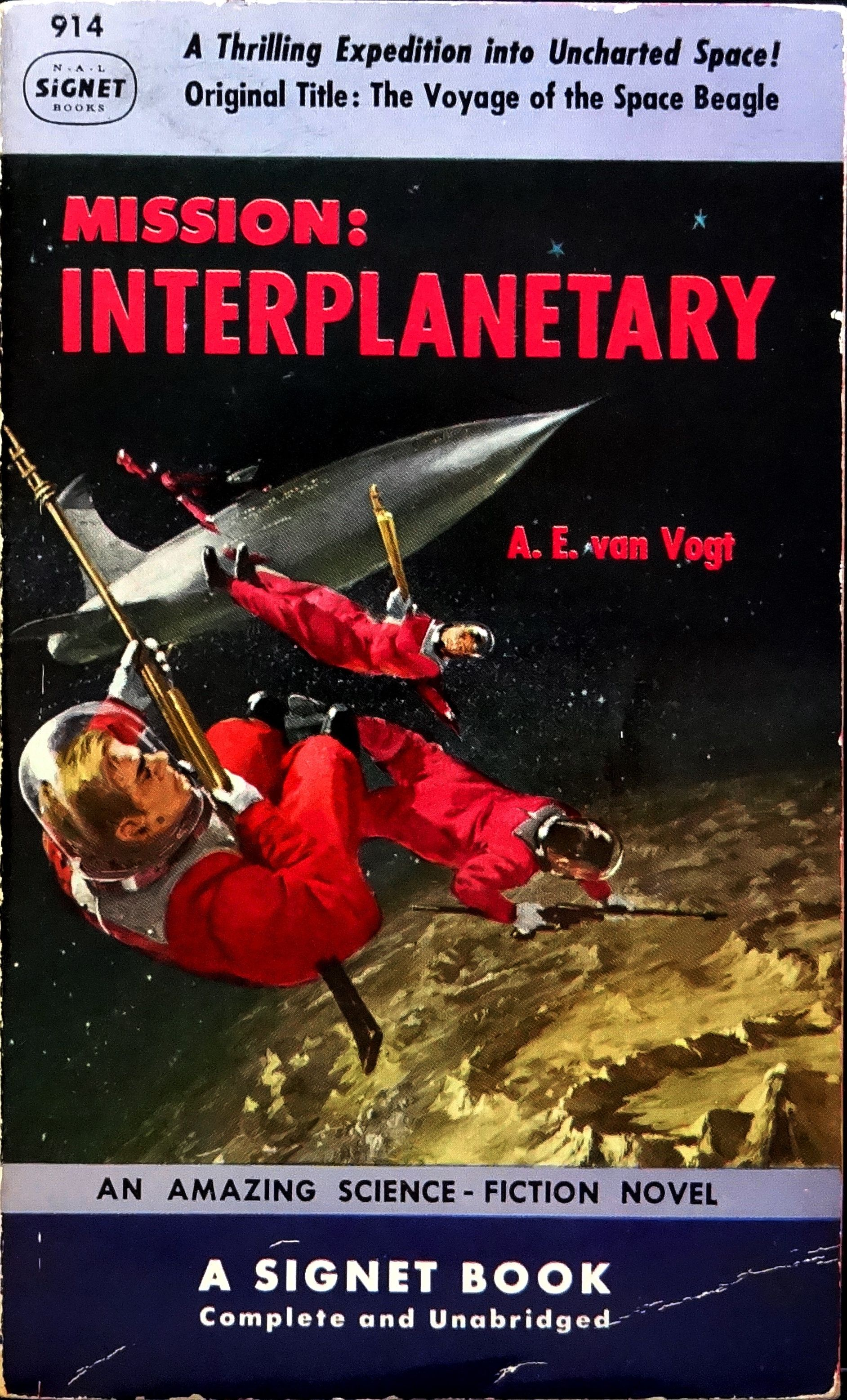 Mission Interplanetary Original Title Voyage Of The Space