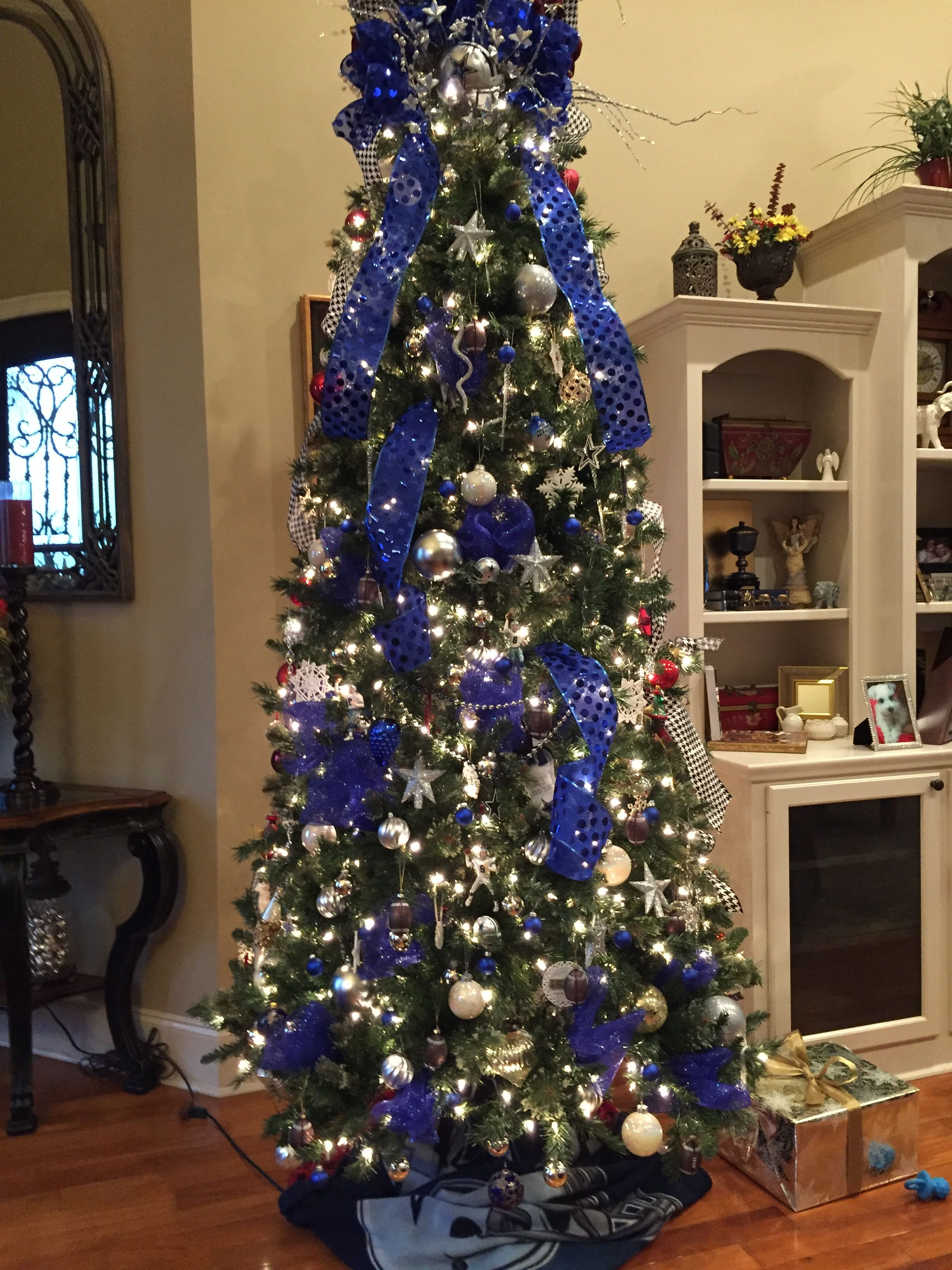 Dallas Cowboys Christmas tree | Dallas cowboys christmas ...