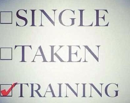 single taken marathon training schwarzer humor flirten
