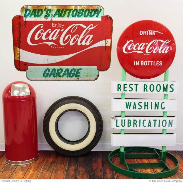 FORD Metal Thermometer signs Man Cave gas pump Dad Gift Garage Shop Home