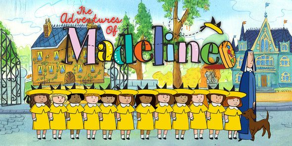 The New Adventures Of Madeline With Images Madeline Cartoon