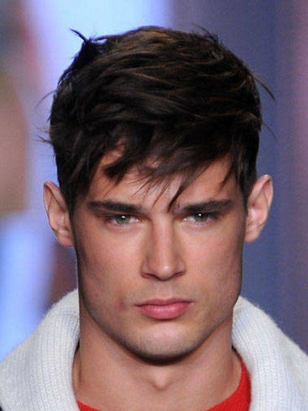 Medium Haircuts With Bangs For Long Faces Mens Hairstyles Short Boys Haircuts Mens Hairstyles Short Sides