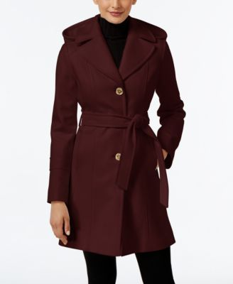 99ee7fd4ade MICHAEL KORS Michael Michael Kors Wool-Blend Hooded Coat