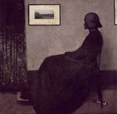 Darth Vader as Whistler's Mother