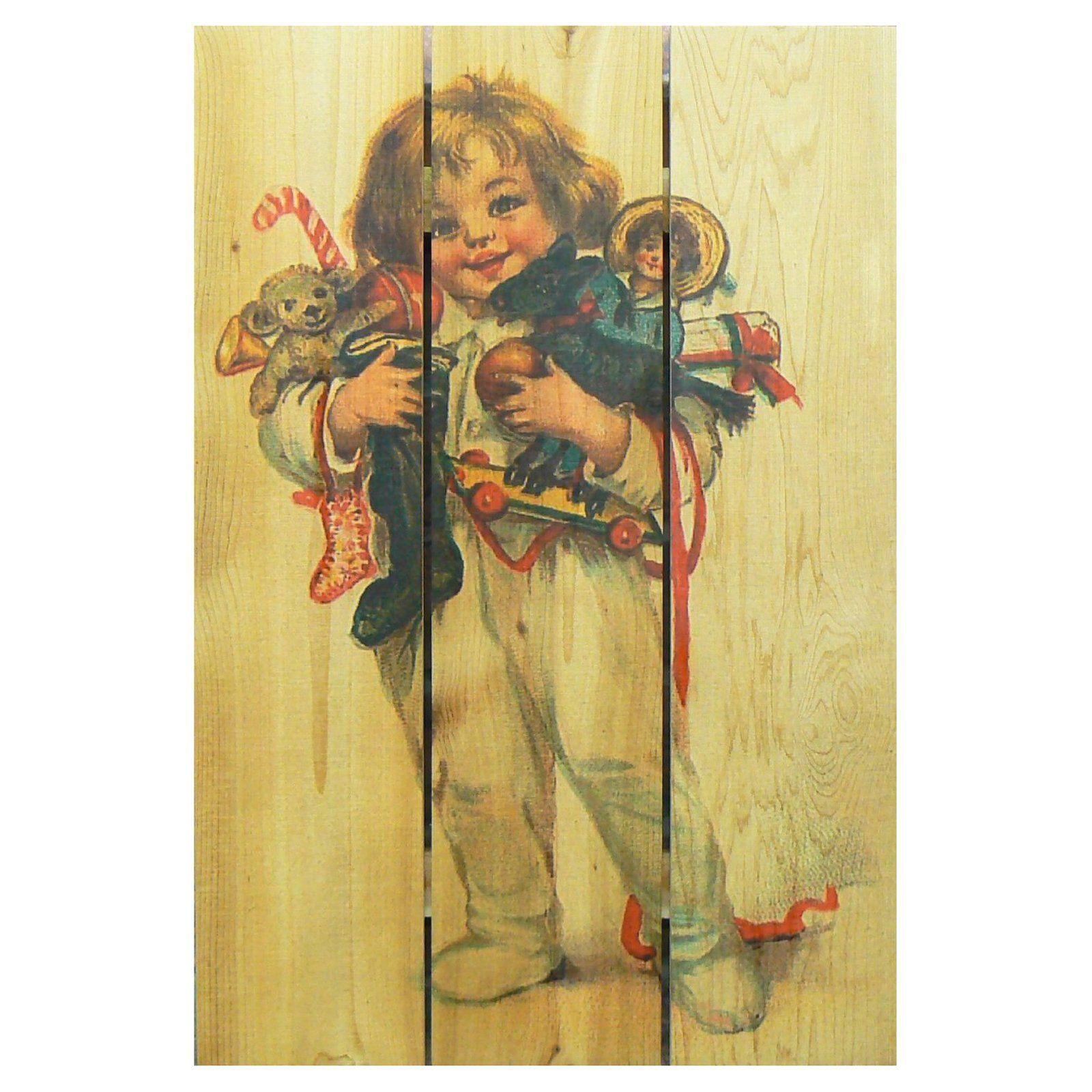 Gizaun Art Morning Child Indoor / Outdoor Wall Art - MC1624 ...