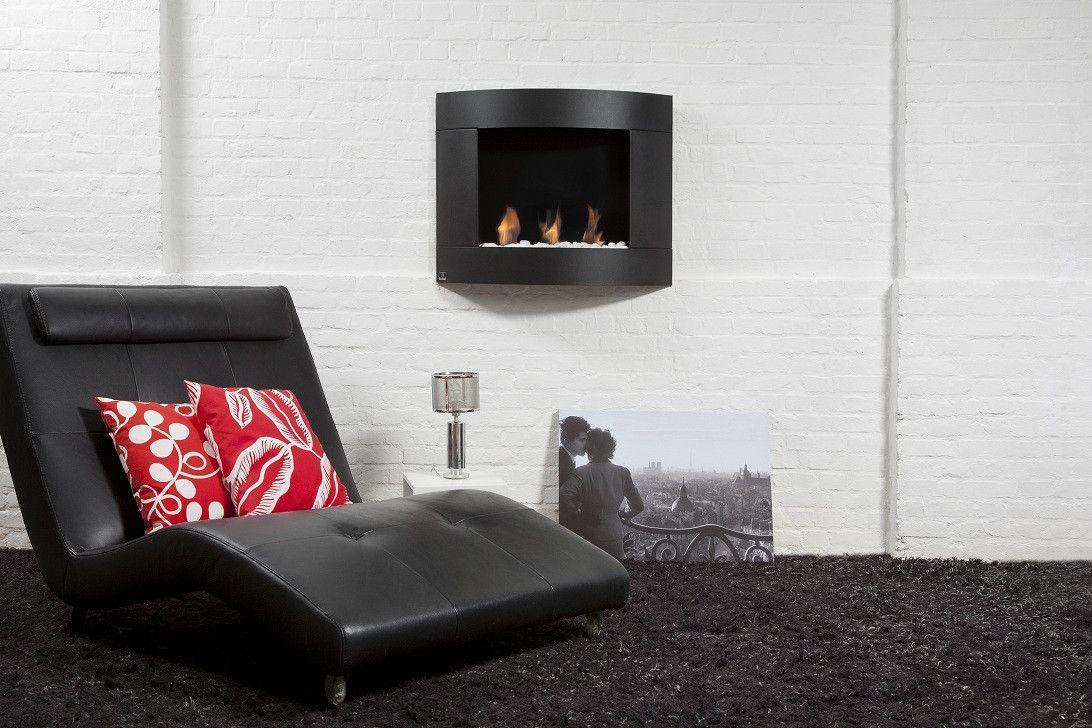 Bio Blaze Diamond I Indoor Wall Mounted Ethanol Fireplace Wall Mounted Fireplace Best Electric Fireplace Decor