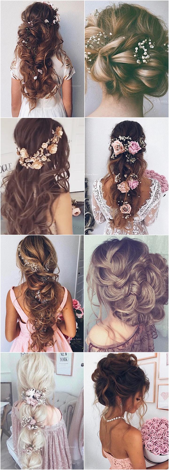 Wedding Hairstyle Inspiration Ulyana Aster Hair style Wedding