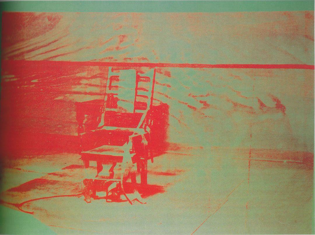 Electric chair andy warhol - Big Electric Chair Andy Warhol 1967
