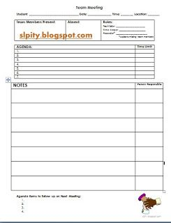 SlpIty Team Meeting AgendaFree Download Pinned By Sos Inc