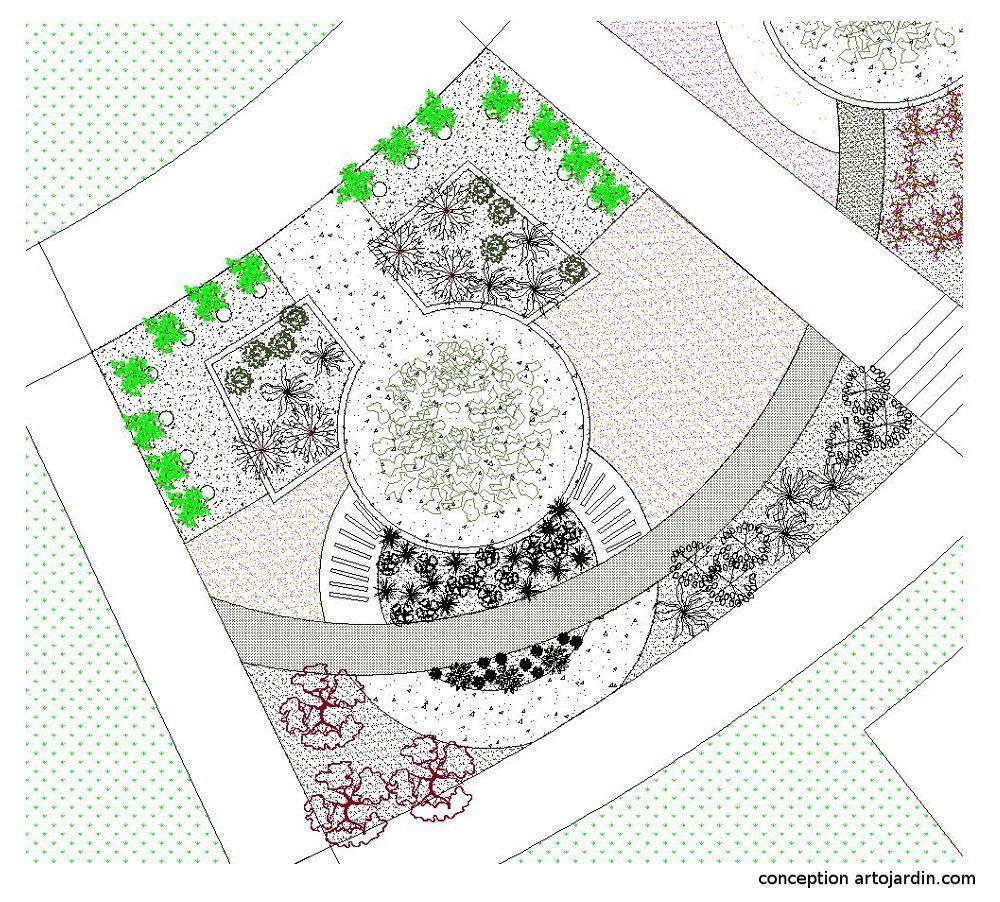 Dix conseils de paysagiste pour l\'aménagement de son jardin | Plan ...