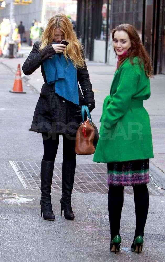 Leighton Meester Photo On The Gossip Set December 14