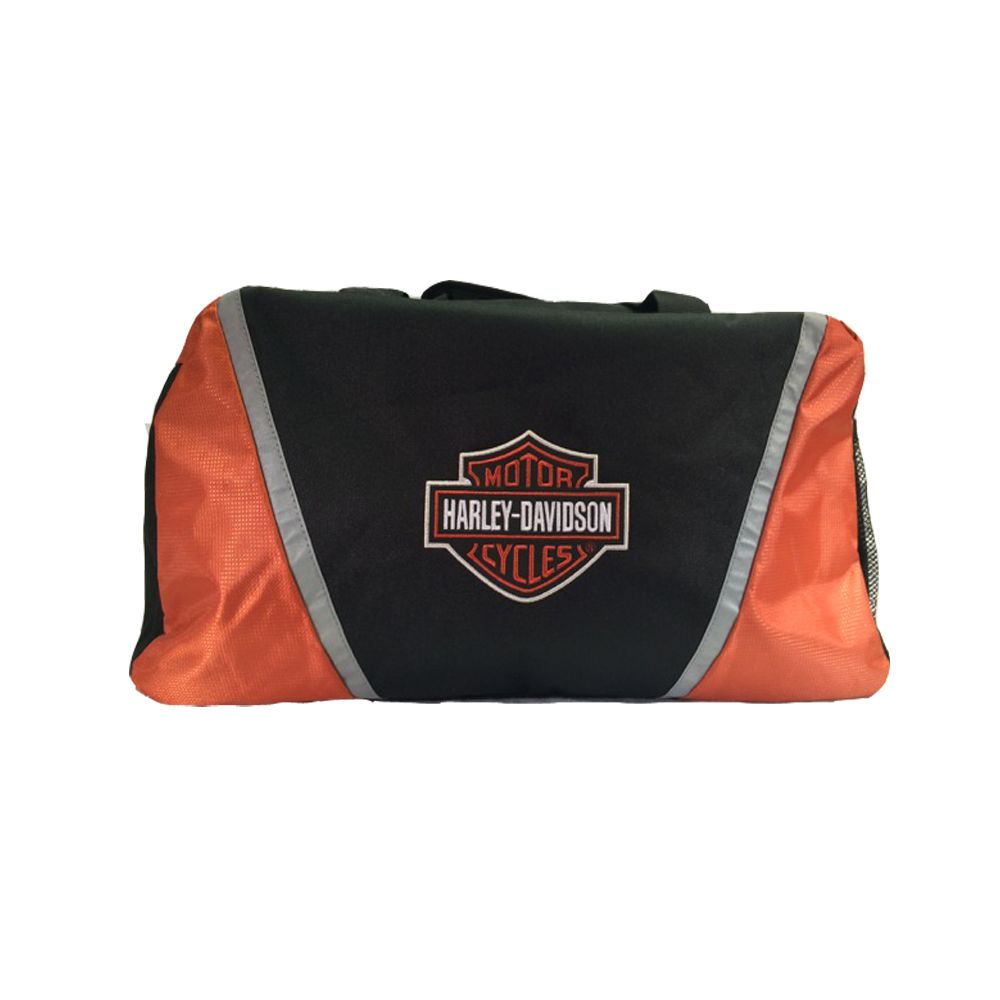 harley-davidson® deluxe embroidered bar & shield® duffel bag