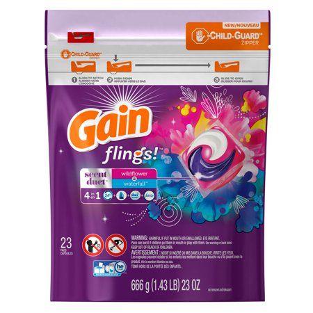 Household Essentials Laundry Detergent Gain Fireworks Gain