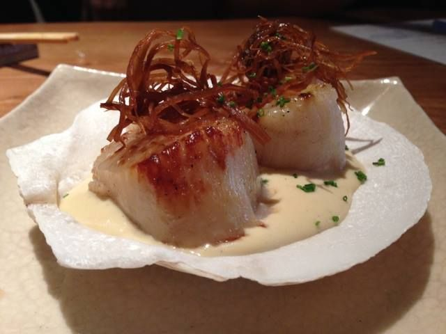 Start your week off right with some Roka Akor Scottsdale AZ DIVER SEA SCALLOPS with a white asparagus purée!   View our entire menu at http://rokaakor.com/Scottsdale/Menu/ - Steak   Seafood   Sushi