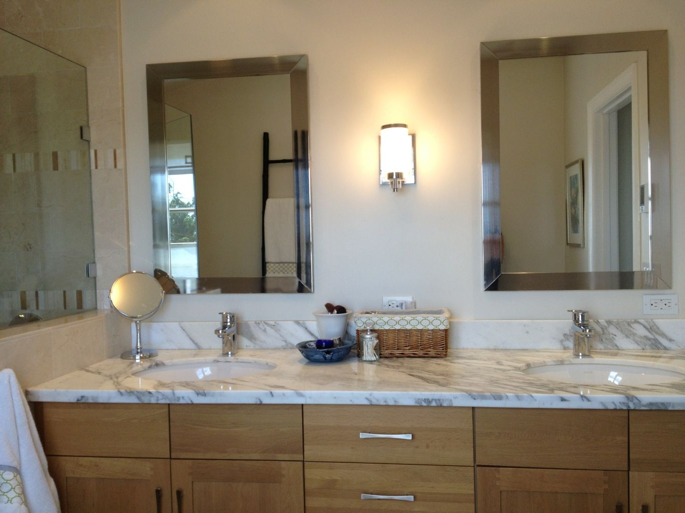 Master Bathroom Double Vanity Designs Bathroom Interesting