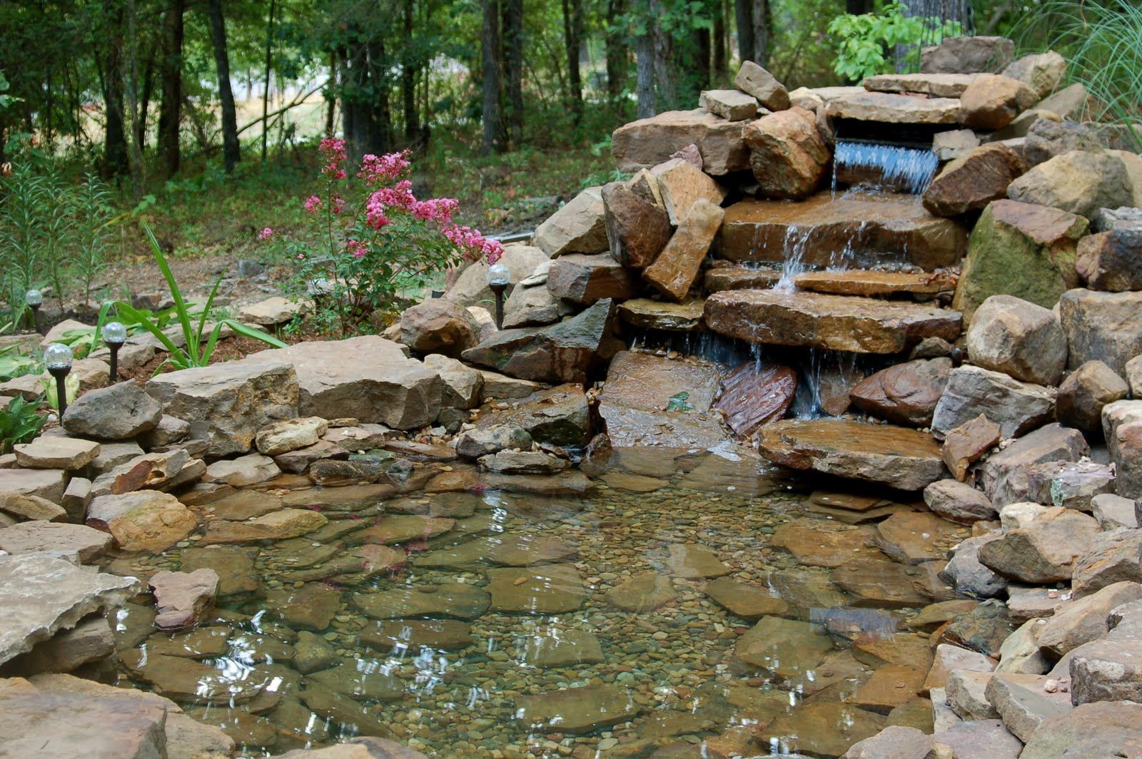 GO WITH THE FLOW   Desert landscaping, Pond, Garden planning on Front Yard Pond  id=98209