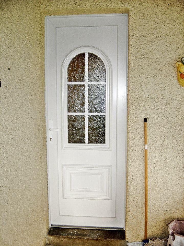 Porte d\u0027entrée PVC, modèle Ulysse, sur-mesure à prix d\u0027usine