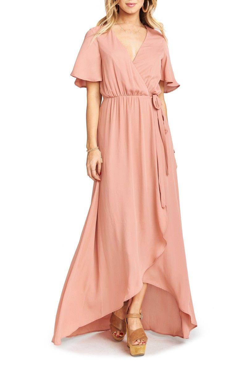 42cd542ed3 Sophia Wrap Dress SHOW ME YOUR MUMU Price$185.00Free Shipping Floaty ...
