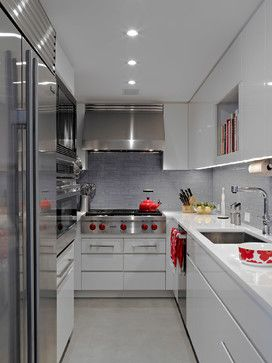 Red Touches In A Neutral Kitchen  Of Course I Love It!